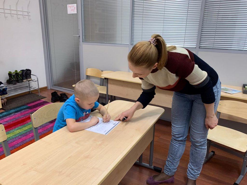 репетитор по английскому для ребенка